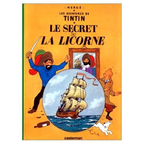 9780320081422: Tintin collection 24 titles in French (mini version) (hardback) (French Edition)