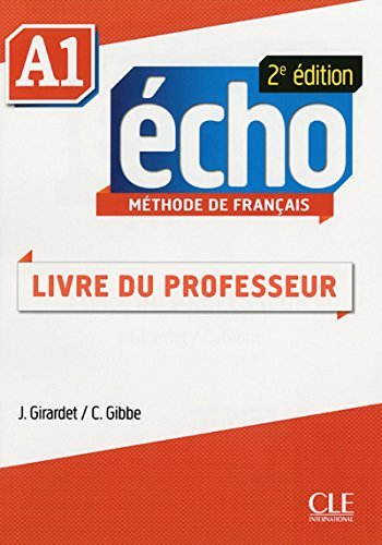 9780320083303: Methode Echo 2eme Edition Niveau A1 Guide Pedagogique (French Edition)