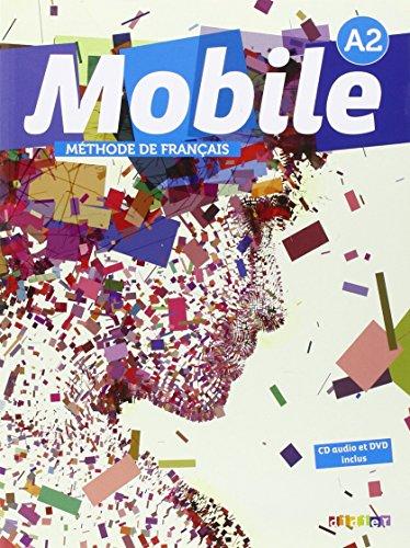 9780320083402: Mobile A2 methode de francais - Livre + CD audio + DVD (French Edition)