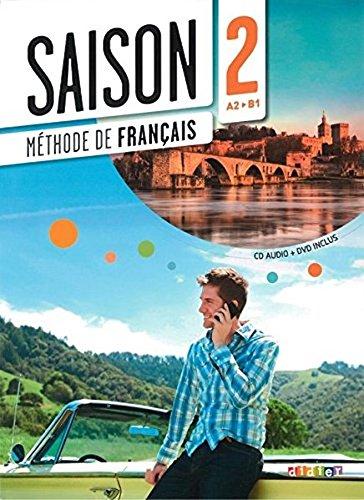9780320083723: Saison 2 - Livre + CD + DVD, niveau - A2+ (French Edition)