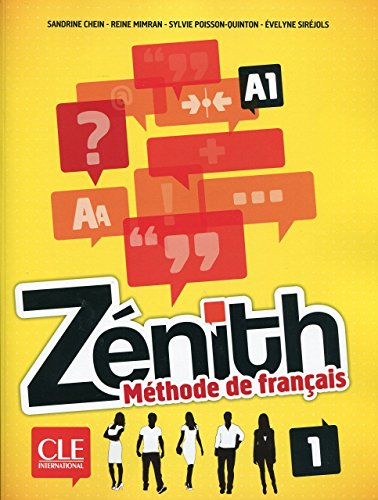 9780320084102: Zénith 1 - Niveau A1 - Livre de l'élève + DVD Rom (French Edition)