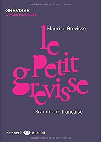 9780320085123: Le Petit Grevisse : Grammaire francaise (French Edition)