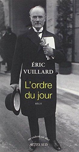 9780320086342: L'ordre du jour (French Edition)