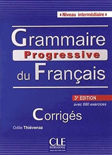 9780320094026: Grammaire progressive du francais - Niveau intermediaire - Corrigés - 3eme edition (French Edition)