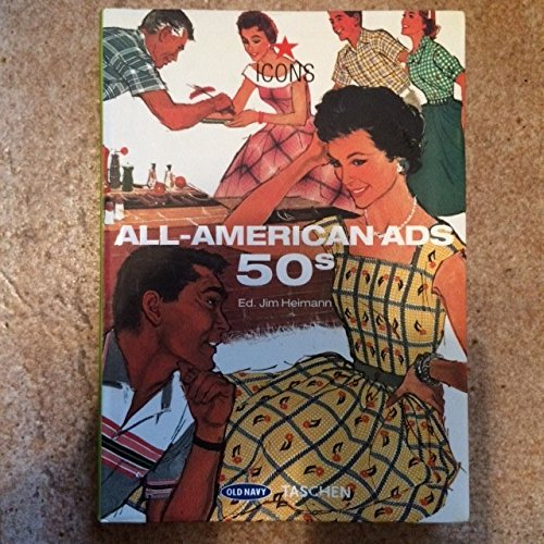 9780320836060: All American Ads 50S Old Navy Edition