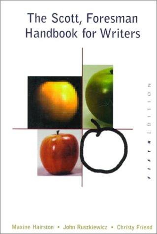 9780321002488: The Scott, Foresman Handbook for Writers