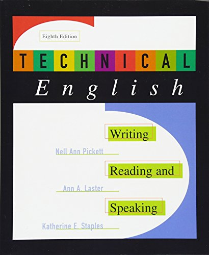 9780321003522: Technical English: Writing, Reading and Speaking (8th Edition)