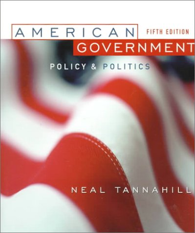9780321005052: American Government: Policy and Politics