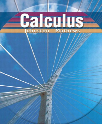 Calculus: Johnston, Elgin H.;