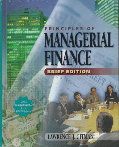 9780321009296: Principles of Managerial Finance: Brief Edition (Addison-Wesley Series in Finance)