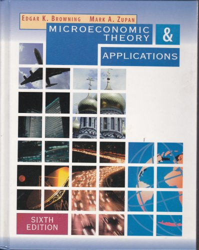 9780321009333: Microeconomics Theory and Applications (The Addison-Wesley series in economics)