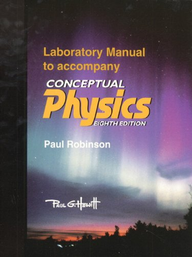 9780321009739: Conceptual Physics Laboratory Manual (8th Edition)