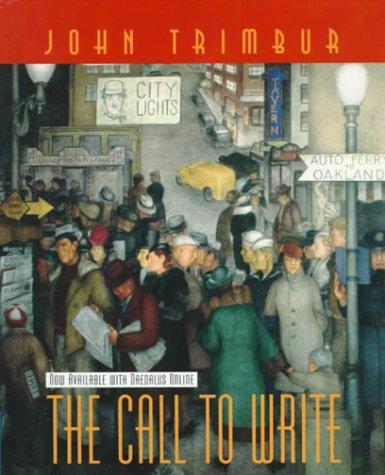 9780321010339: The Call to Write