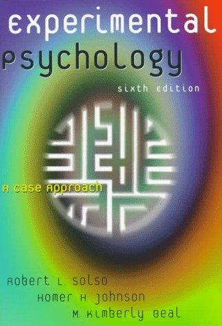 9780321011466: Experimental Psychology: A Case Approach