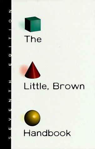 9780321012166: The Little, Brown Handbook, 7th Edition