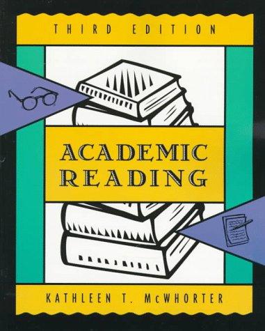 9780321012227: Academic Reading