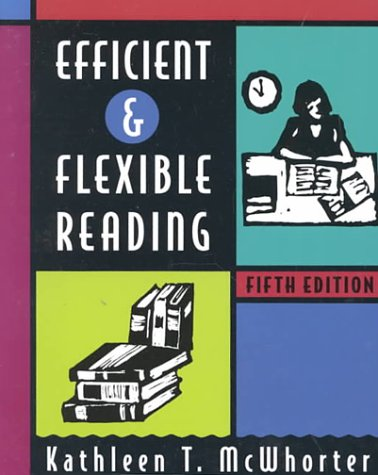 9780321012449: Efficient and Flexible Reading