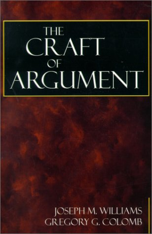 9780321012647: The Craft of Argument