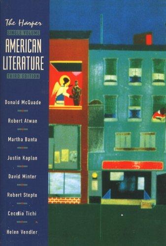 9780321012692: Harper Single Volume American Literature, 3rd Edition