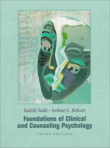 9780321013958: Foundations of Clinical and Counseling Psychology (3rd Edition)