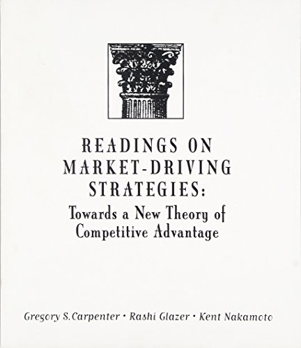 9780321014139: Readings on Market-Driving Strategies: Towards a New Theory of Competitive Advantage