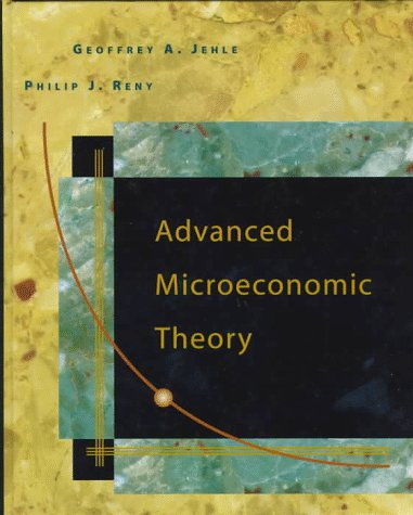 9780321014368: Advanced Microeconomic Theory (Addison-Wesley Series in Economics)