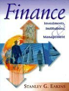 9780321014504: Finance Investments, Institutions, & Management