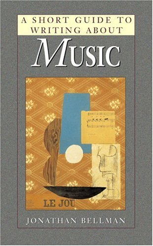 9780321015778: A Short Guide to Writing About Music (Short Guides Series)