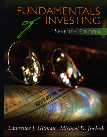 9780321021069: Fundamentals of Investing (Seventh Edition)