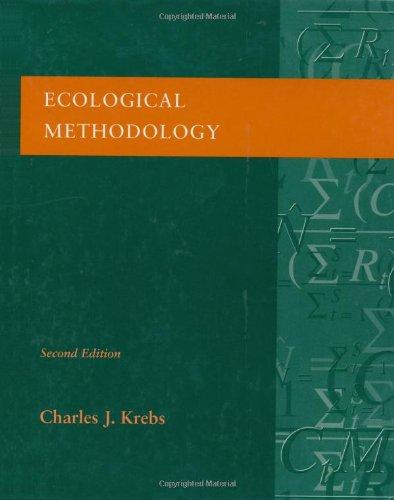 9780321021731: Ecological Methodology (2nd Edition)