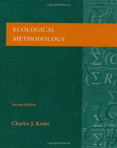 9780321021731: Ecological Methodology (2nd Edition)