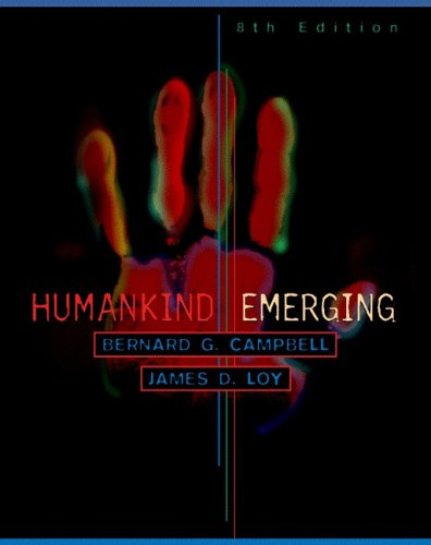 9780321022745: Humankind Emerging (8th Edition)