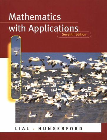 9780321022943: Mathematics with Applications (7th Edition)