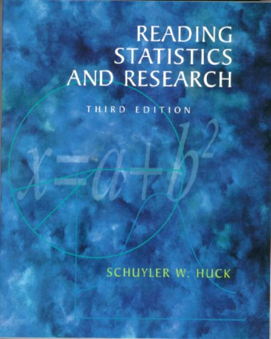 9780321023414: Reading Statistics and Research: Part 3