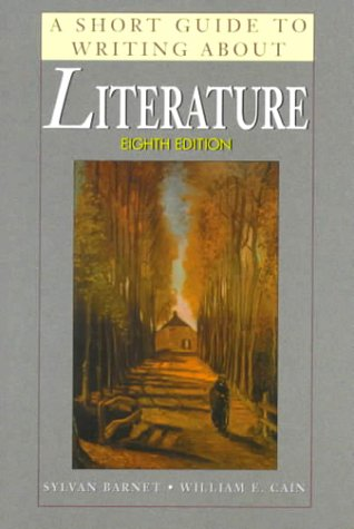 9780321026507: A Short Guide to Writing About Literature (8th Edition)