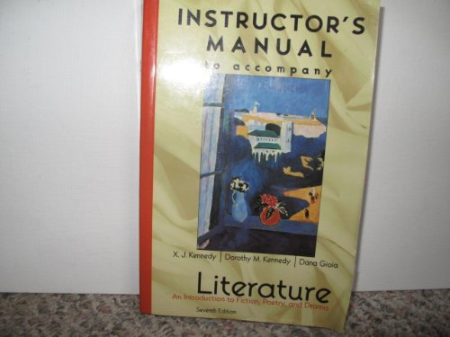 9780321027368: Literature: An Introduction to Fiction, Poetry and Drama
