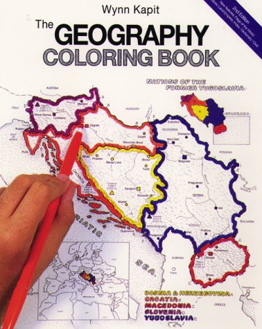 the geography coloring book 2nd edition kapit wynn