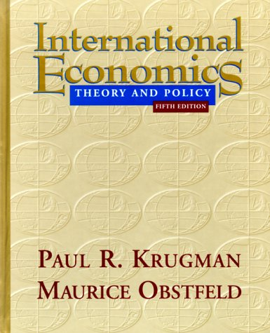 9780321033871: International Economics: Theory and Policy (Addison-Wesley series in economics)