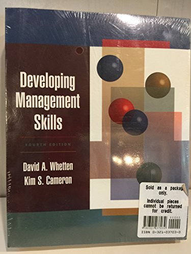 9780321037039: Developing Management Skills