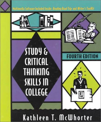 9780321037923: Study and Critical Thinking Skills in College (4th Edition)