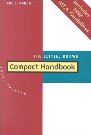 9780321037961: The Little, Brown Compact Handbook