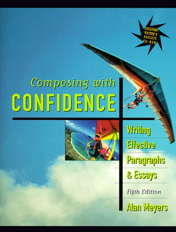9780321038012: Writing With Confidence: Writing Effective Sentences and Paragraphs