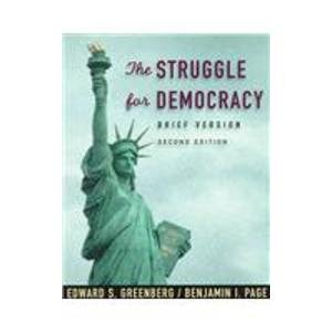 9780321038159: Struggle for Democracy: Brief Edition