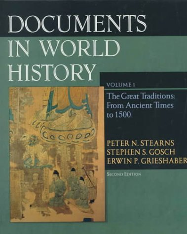 9780321038562: Documents in World History, Volume I: From Ancient Times to 1500 (2nd Edition)
