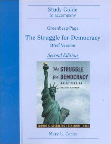 9780321041777: Struggle for Democracy
