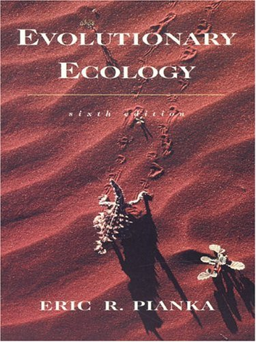 9780321042880: Evolutionary Ecology (6th Edition)