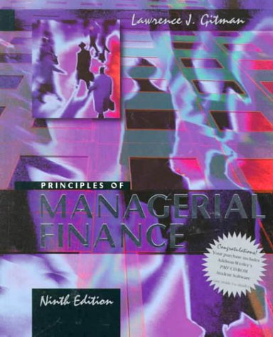 9780321043085: Principles of Managerial Finance