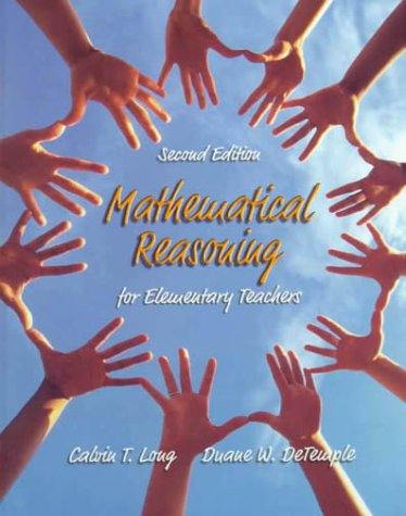 9780321043337: Mathematical Reasoning for Elementary Teachers (2nd Edition)