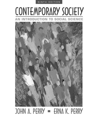 9780321044624: Contemporary Society: An Introduction to Social Science (9th Edition)