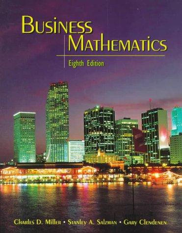 9780321045034: Business Mathematics (8th Edition)